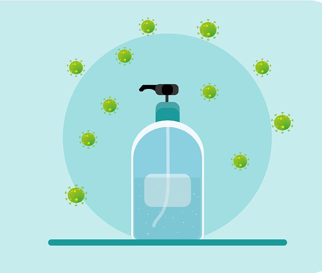 dezinfekce v lahvi