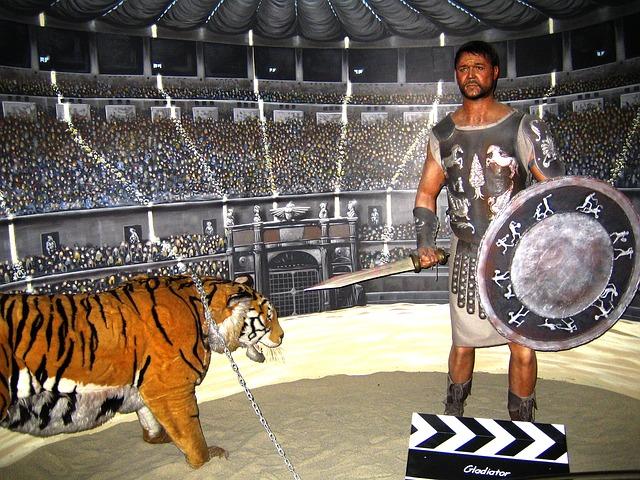 gladiator v ringu