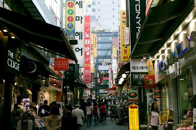 ulice Korei