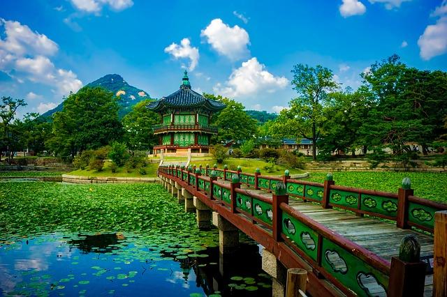 krása přírody v Korei