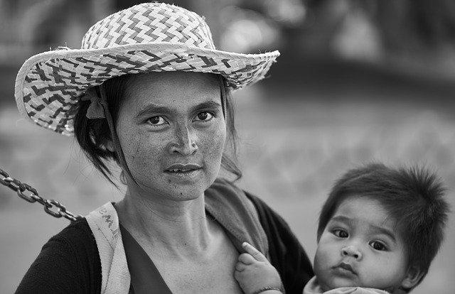 práce matky a dcery