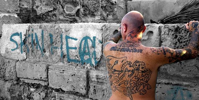 skinhead u zdi