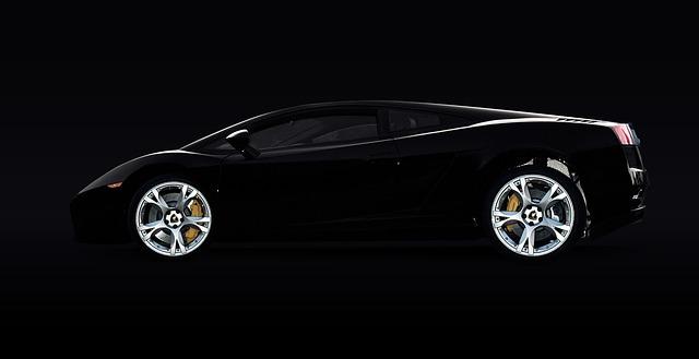 luxusní Lamborghini